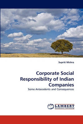 Corporate Social Responsibility of Indian Companies (Paperback)