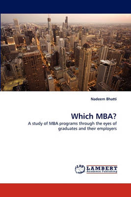Which MBA? (Paperback)