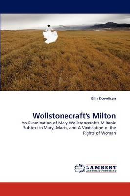 Wollstonecraft's Milton (Paperback)