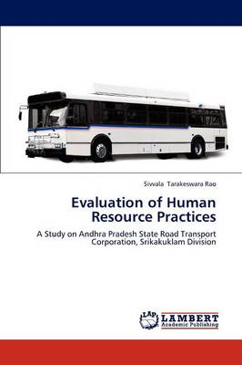 Evaluation of Human Resource Practices (Paperback)