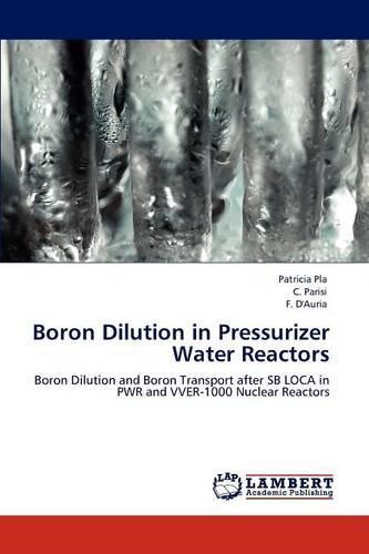 Boron Dilution in Pressurizer Water Reactors (Paperback)
