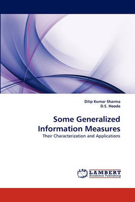 Some Generalized Information Measures (Paperback)
