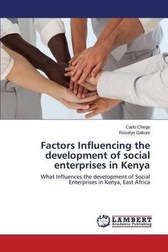 Factors Influencing the Development of Social Enterprises in Kenya (Paperback)