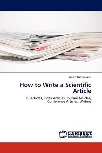 How to Write a Scientific Article (Paperback)