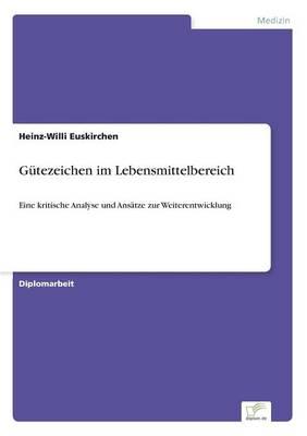 G tezeichen Im Lebensmittelbereich (Paperback)