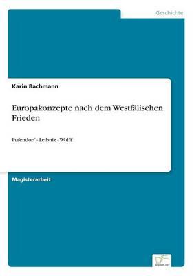 Europakonzepte Nach Dem Westfalischen Frieden (Paperback)