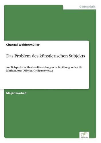 Das Problem Des Kunstlerischen Subjekts (Paperback)