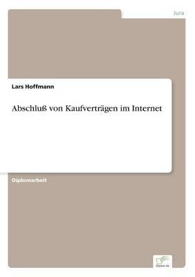 Abschlu Von Kaufvertr gen Im Internet (Paperback)