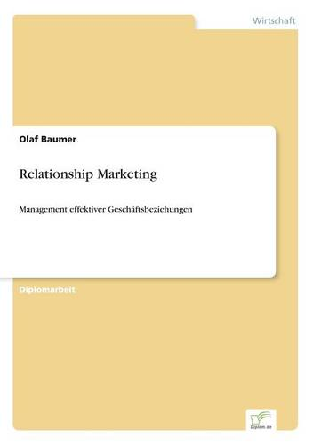 Relationship Marketing (Paperback)
