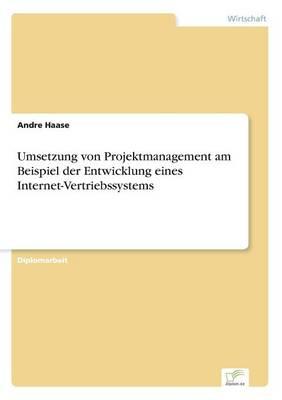 Umsetzung Von Projektmanagement Am Beispiel Der Entwicklung Eines Internet-Vertriebssystems (Paperback)