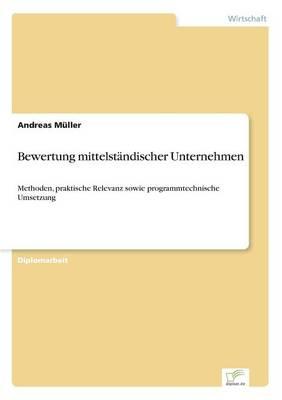 Bewertung Mittelstandischer Unternehmen (Paperback)