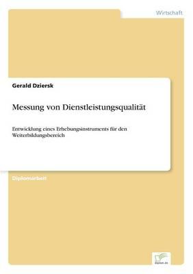Messung Von Dienstleistungsqualit t (Paperback)