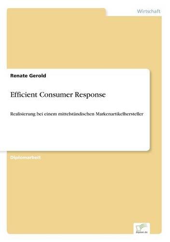 Efficient Consumer Response (Paperback)