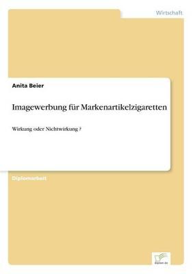Imagewerbung Fur Markenartikelzigaretten (Paperback)