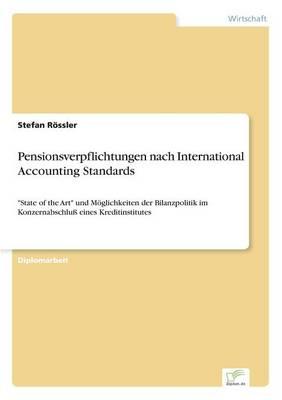 Pensionsverpflichtungen Nach International Accounting Standards (Paperback)