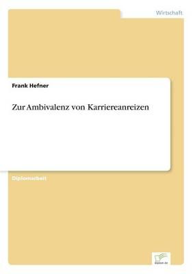 Zur Ambivalenz Von Karriereanreizen (Paperback)