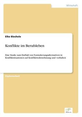 Konflikte Im Berufsleben (Paperback)