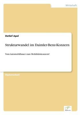 Strukturwandel Im Daimler-Benz-Konzern (Paperback)