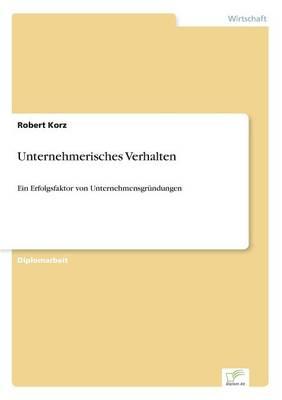 Unternehmerisches Verhalten (Paperback)