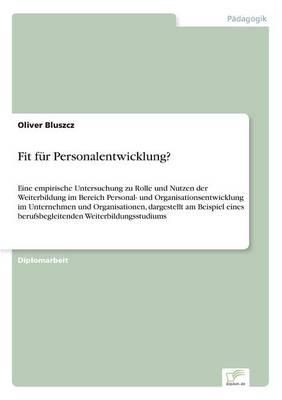 Fit Fur Personalentwicklung? (Paperback)