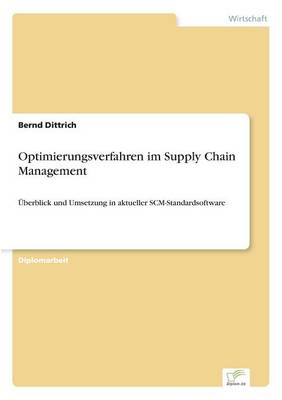 Optimierungsverfahren Im Supply Chain Management (Paperback)