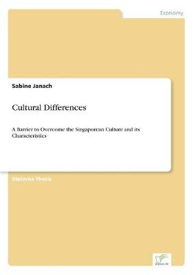 Cultural Differences (Paperback)