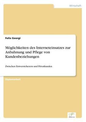M glichkeiten Des Interneteinsatzes Zur Anbahnung Und Pflege Von Kundenbeziehungen (Paperback)