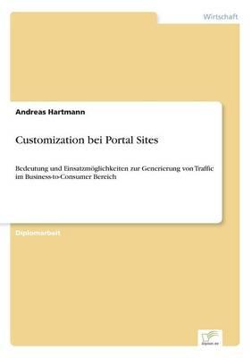 Customization Bei Portal Sites (Paperback)