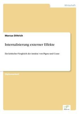 Internalisierung Externer Effekte (Paperback)