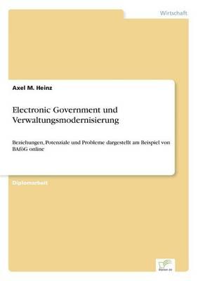 Electronic Government und Verwaltungsmodernisierung: Beziehungen, Potenziale und Probleme dargestellt am Beispiel von BAfoeG online (Paperback)