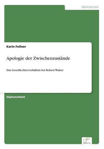 Apologie Der Zwischenzustande (Paperback)