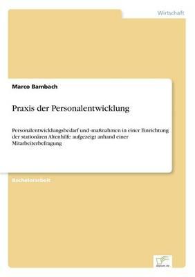 Praxis Der Personalentwicklung (Paperback)