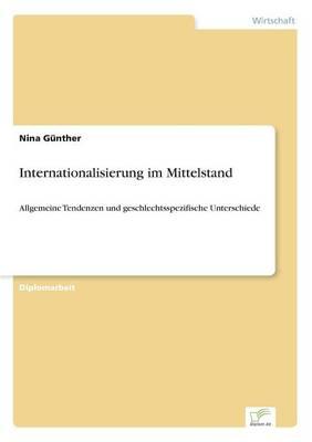 Internationalisierung Im Mittelstand (Paperback)