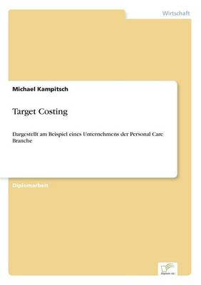 Target Costing (Paperback)