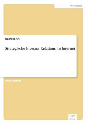 Strategische Investor Relations Im Internet (Paperback)