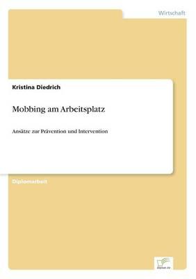Mobbing Am Arbeitsplatz (Paperback)