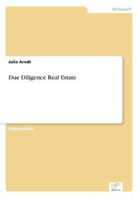 Due Diligence Real Estate (Paperback)