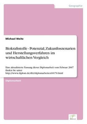 Biokraftstoffe - Potenzial, Zukunftsszenarien Und Herstellungsverfahren Im Wirtschaftlichen Vergleich (Paperback)