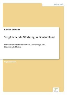 Vergleichende Werbung in Deutschland (Paperback)
