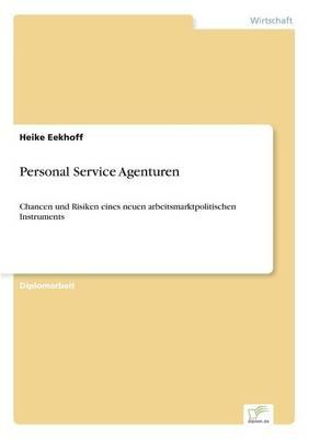 Personal Service Agenturen (Paperback)