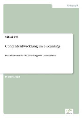 Contententwicklung Im E-Learning (Paperback)