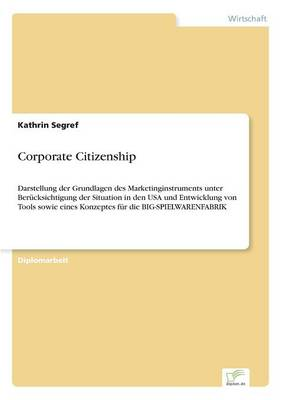 Corporate Citizenship (Paperback)