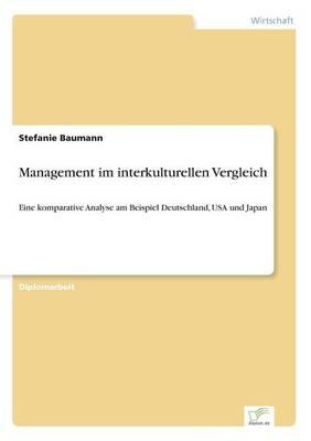Management Im Interkulturellen Vergleich (Paperback)