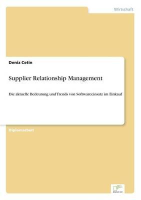 Supplier Relationship Management (Paperback)