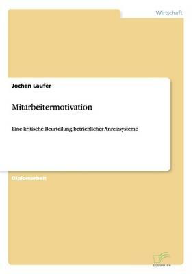 Mitarbeitermotivation (Paperback)