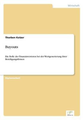 Buyouts (Paperback)