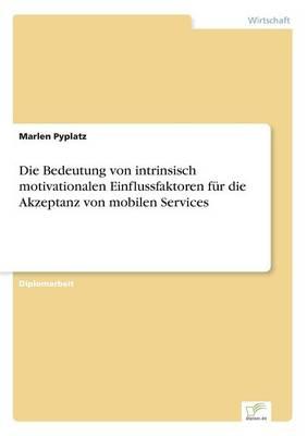 Die Bedeutung Von Intrinsisch Motivationalen Einflussfaktoren F r Die Akzeptanz Von Mobilen Services (Paperback)