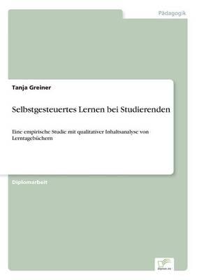 Selbstgesteuertes Lernen Bei Studierenden (Paperback)