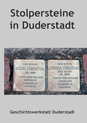 Stolpersteine in Duderstadt (Paperback)