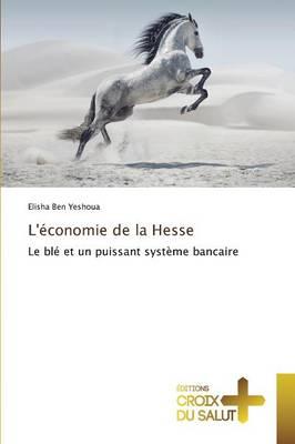Leconomie de la Hesse - Omn.Croix Salut (Paperback)